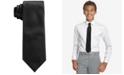 Calvin Klein Big Boys Solid Vellum Necktie
