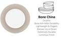 Lenox Brian Gluckstein by Audrey  Bone China Dinner Plate