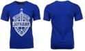 adidas Men's Kansas Jayhawks Landmark Crest Performance T-Shirt