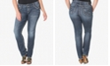 Silver Jeans Co. Plus Size Suki Medium Wash Straight-Leg Jeans