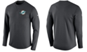 Nike Men's Miami Dolphins Modern Crew Long-Sleeve T-Shirt