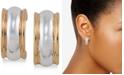 Lauren Ralph Lauren Two-Tone Hoop Clip-on Earrings