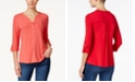 Charter Club Utility Henley Top, Created for Macy's
