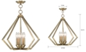 Livex Prism 5- Light Metal Pendant