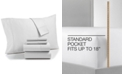 AQ Textiles  CLOSEOUT! Bradford StayFit 6-Pc. King Sheet Set, 800 Thread Count Combed Cotton Blend