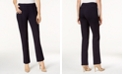 Charter Club Petite Ponté-Knit Seamed Crop Pants, Created for Macy's