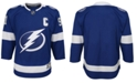 Authentic NHL Apparel Tampa Bay Lightning Premier Blank Jersey, Big Boys (8-20)
