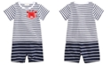 First Impressions Striped Crab Cotton Romper, Baby Boys, Created for Macy's