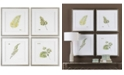 Uttermost Watercolor Leaf Study 4-Pc. Printed Wall Art Set