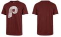'47 Brand Men's Philadelphia Phillies Scrum Logo T-Shirt
