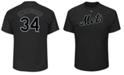 Majestic Men's Noah Syndergaard New York Mets Pitch Black Player T-Shirt