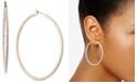 """Givenchy Pavé 2"""" Medium Hoop Earrings"""