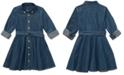 Polo Ralph Lauren Little Girls Cotton Denim Shirtdress