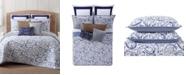 Oceanfront Resort Indienne Paisley Full/Queen Quilt Set