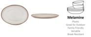 Q Squared Potter Terracotta Melaboo Oval Platter
