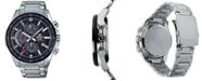 G-Shock Men's Solar Chronograph Stainless Steel Bracelet Watch 47.6mm