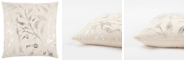 """Rizzy Home 20"""" x 20"""" Floral Pillow Collection"""