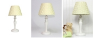 3 Stories Trading Nurture Yellow Roses Lamp Base With Shade