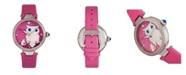 Bertha Quartz Rosie Pink Genuine Leather Watch, 38mm