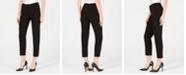 Anne Klein Bi-Stretch Slim Straight-Leg Dress Pants, Created for Macy's