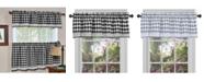 Achim Buffalo Check Window Curtain Valance, 58x14