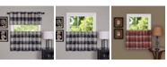 Achim Harvard Window Curtain Tier Pair, 57x24