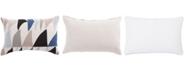 "Jaipur Living Nikki Chu By Priscilla Geometric Down Throw Pillow 16"" x 24"""