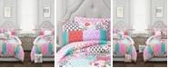 Lush Decor Brookdale Patchwork 5-Pc. Twin XL Comforter Set