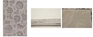 "Bridgeport Home Pashio Pas5 Gray 5' 3"" x 8' Area Rug"