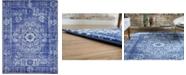 Bridgeport Home Wisdom Wis3 Royal Blue 9' x 12' Area Rug