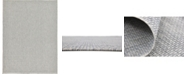 Bridgeport Home Pashio Pas6 Light Gray 9' x 12' Area Rug