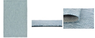 Bridgeport Home Pashio Pas6 Aquamarine 5' x 8' Area Rug