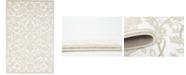 Bridgeport Home Marshall Mar1 Snow White 4' x 6' Area Rug