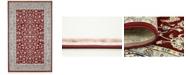 Bridgeport Home Zara Zar1 Burgundy 5' x 8' Area Rug