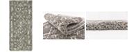 """Bridgeport Home Fazil Shag Faz1 Gray 2' 7"""" x 6' Runner Area Rug"""