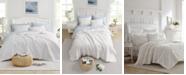 Laura Ashley Maisy White Quilt Set, Full/Queen
