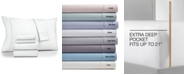 Fairfield Square Collection Brookline Extra Deep Pocket 1400 Thread Count 6 Pc. Sheet Set, King