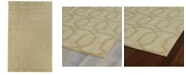 Kaleen Imprints Modern IPM03-28 Yellow 2' x 3' Area Rug