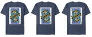 Marvel Men's Comic Collection Thanos Playing Cards Short Sleeve T-Shirt