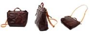 OLD TREND Brookside Leather Messenger Bag