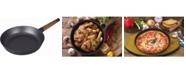 "MasterPan Mp-141 Designer Series Non-Stick Fry Pan with Detachable Handle, 12.6"""