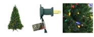 Northlight 6.5' Pre-Lit Huron Pine Artificial Christmas Tree - Multi Lights