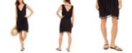Dotti Resort Tassel-Trim Dress Cover-Up
