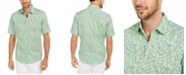 Alfani Men's Classic-Fit Lizard-Print Shirt, Created for Macy's
