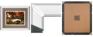 "Classy Art Bow Bridge by Tom Reeves Mirror Framed Print Wall Art, 34"" x 40"""