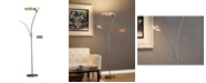 """Artiva USA Lumineux 71"""" LED Torchiere Floor Lamp Reading Light 30W, Touch Dimmer"""