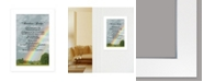 "Trendy Decor 4U Rainbow Bridge by Trendy Décor 4U, Ready to hang Framed Print, White Frame, 11"" x 15"""