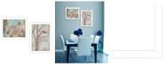 "Trendy Decor 4U Wings to Fly 2-Piece Vignette by Kenda Runnels, White Frame, 14"" x 20"""