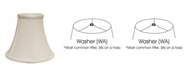 Macy's Cloth&Wire Slant Bell Softback Lampshade with Washer Fitter