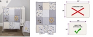 NoJo Roarsome Lion 3-Piece Mini Crib Bedding Set